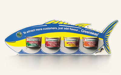 Flavoured Tuna Packaging and Sample Pack image